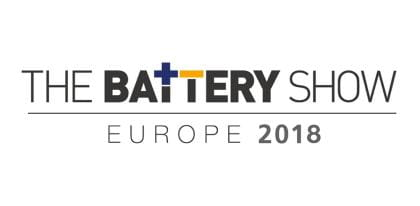 Battery Show Europe 2018