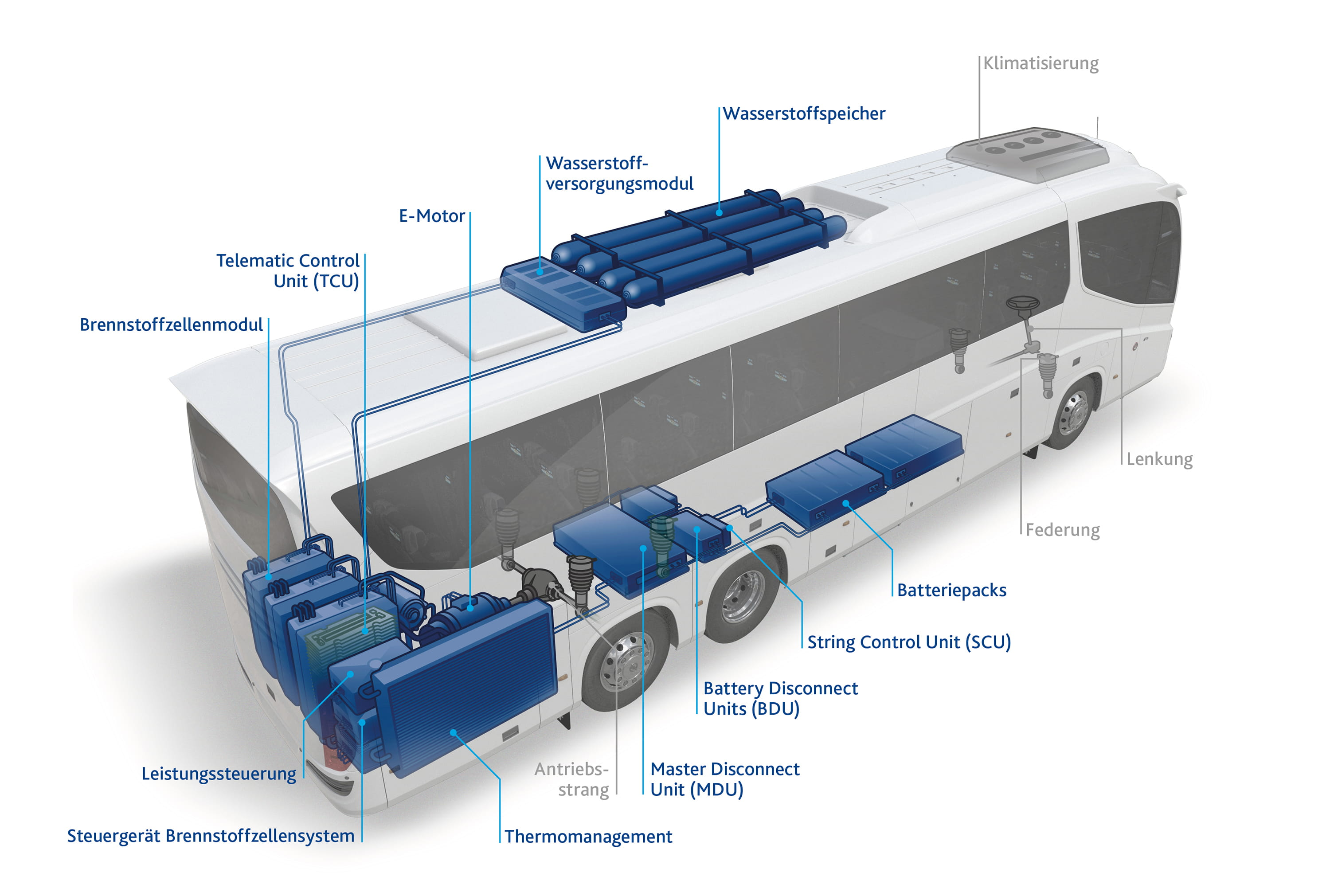 FST FuelCell Bus Illustration